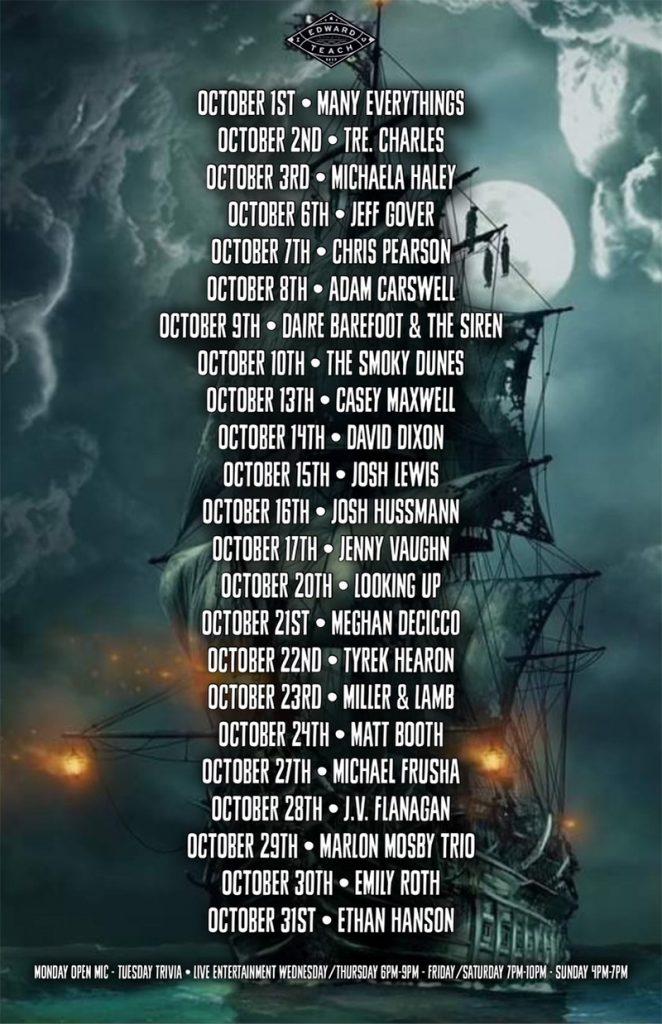 Ed Teach October Events